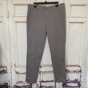 VINCE gray straight leg trousers pants 12